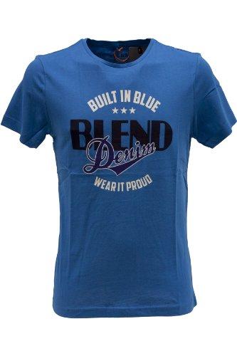Blend of America -  T-shirt - T-shirt  - Maniche corte  - Uomo Blu Royal Small