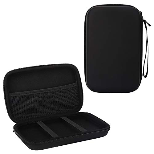 MoKo 7-Inch GPS Carrying Case, Portable Shockproof Eva Hard Shell Protective Pouch Travel Storage Bag for Car GPS Navigator Garmin/Tomtom/Magellan Devices with 7