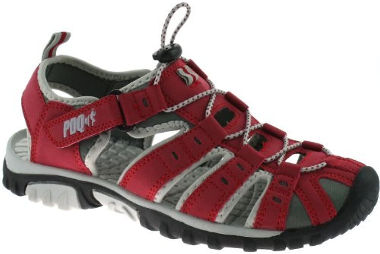 PDQ  Damen Sport- & Outdoor Sandalen Rot rot