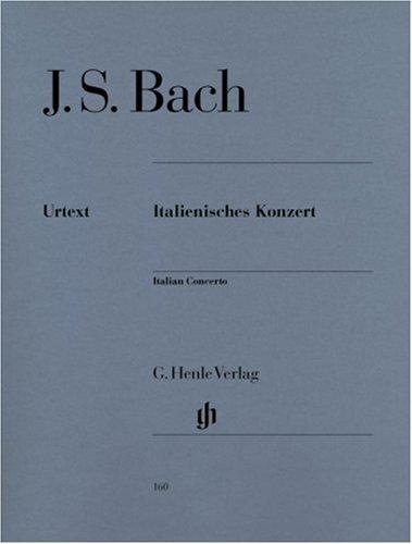 Concerto Italien BWV 971 : Piano