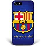 For iPhone 7 - iPhone 8 - Phone Back Case Hard Cover Custom Personalised Trendy Style Christmas Gift Present Abstract Modern Design Protective Plastic UK Brand Appfix FC Barcelona Football Club