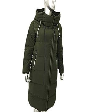 Sublevel Damen Mantel Wintermantel Winterparka Fashion Leisure Chaqueta Larga Para Mujeres Con Capucha