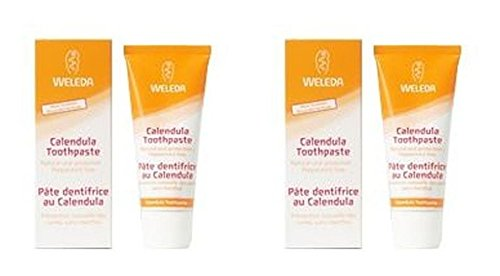 Artikelbild: (LOT DE 2) - Weleda Toothpaste - Calendula | 75ml | 2 PACK - SUPER SAVER - SAVE MONEY