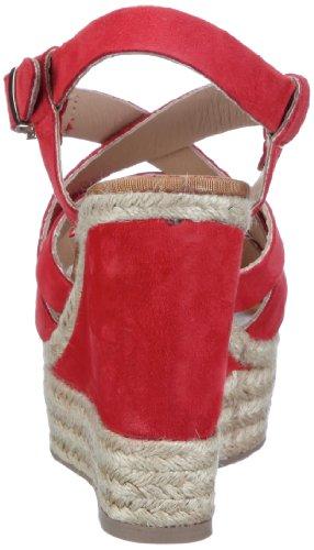 Manas taormina 121L5707C, Sandales femme Rouge-TR-SW101