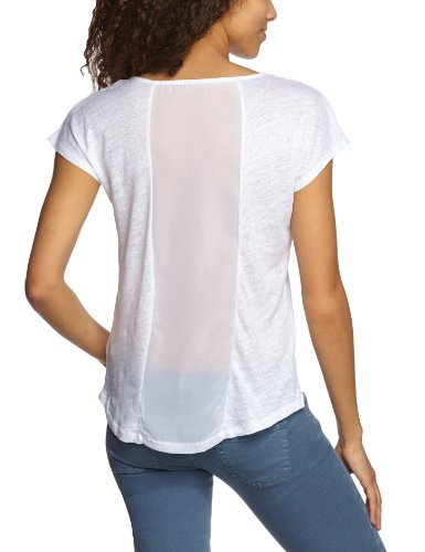 Object - T-shirt - Manches 1/2 - Femme Blanc (White)