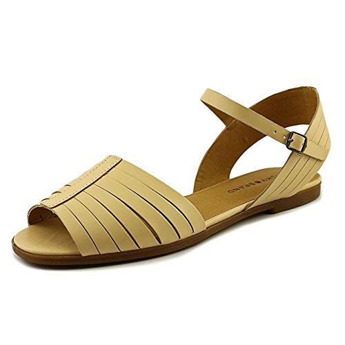 Lucky Brand Channing Femmes Cuir Sandale Light Natural