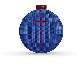 Enceinte Bluetooth ultra-portable UE ROLL - Étanche, Résistante aux Chocs - Bleu/Marron/Rouge