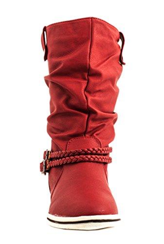 Elara - Stivali Donna Rosso (rosso)