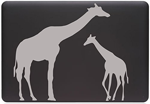 Mom and Baby Giraffe - MacBook or Laptop Decal (9.5