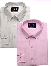 [Sponsored Products]Koolpals Combo Of 2 Cotton Shirts - B017FK2SHK