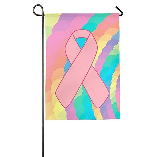 Confederate Flag Design (nuohaoshangmao Garden Flag Breast Cancer Pink Ribbon House Flags Design)