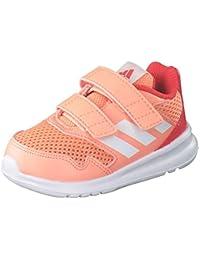 sports shoes edcc3 e7f49 adidas Altarun Cloudfoam, Scarpe da Ginnastica Basse Bimba, Arancione  ChacorFtwwhtReacor