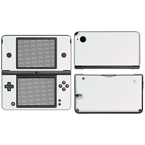 atFoliX Skin kompatibel mit Nintendo DSi XL, Designfolie Sticker (FX-Gloss-Diamond-Pink), Reflektierend / Glänzend (Pink Nintendo Dsi Xl)