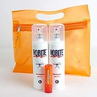 Preisvergleich für RENNER XXL Nobite Haut-Spray Mückenschutz Insektenschutz, Doppelpack inkl. Kulturbeutel