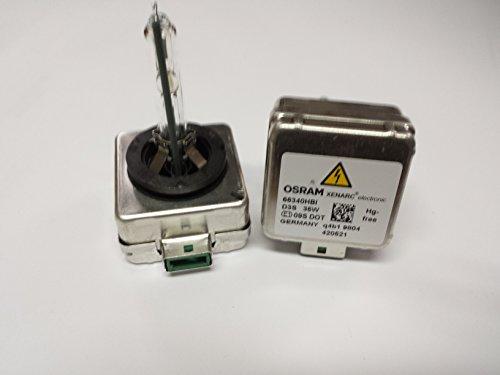 2x Osram D3S 66340HBI Xenarc Xenon Brenner 35W Lampe Hid Lampen Scheinwerfer PK32d-5