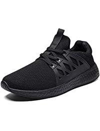 buy popular 90334 7cf86 Scarpe da Tennis comode e Traspiranti per Uomo Scarpe da Passeggio Leggere  Sneakers