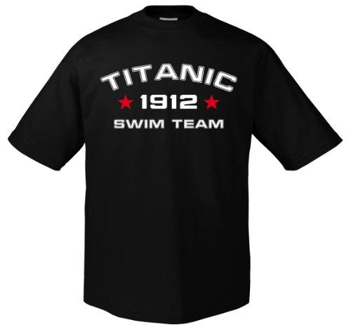 Fun Titanic Swim Team T-Shirt XL - Swim-team T-shirts
