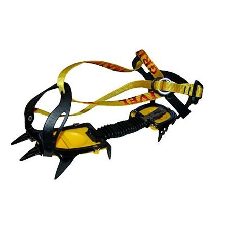 Grivel G10 crampon Wide, New Classic yellow/black by Grivel