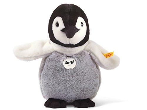 Steiff 057090 Flaps Pinguinbaby 20 stehend Pinguin, SCHWARZ/WEIß/GRAU -