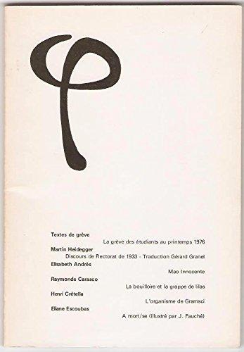 Textes de grve. l'Auto-infirmation de l'Ubu-universit franaise.