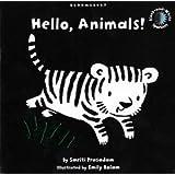 Hello, Animals!: Black and White Sparkler Board Book