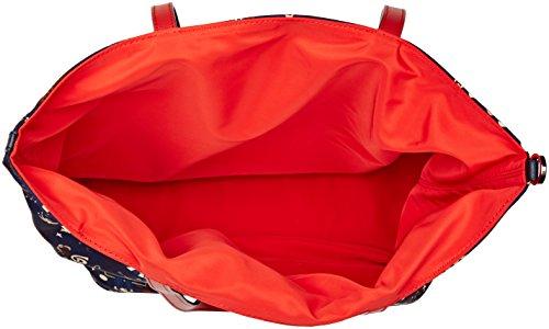 Piero Guidi Reversible, Borsa Tote Donna, 34x32.5x16 cm (W x H x L) Rosso (Rosso Rubino)