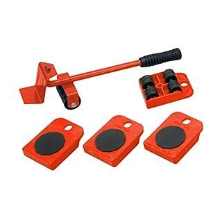 Meister Möbel-Transportroller-Set 5-teilig, 419900