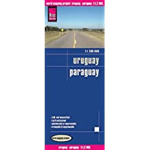 Reise Know-How Landkarte Uruguay, Paraguay (1:1.200.000): world mapping project