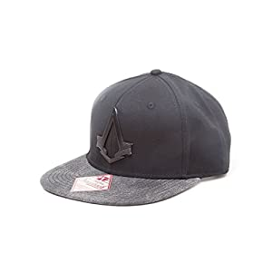 Assassin's Creed Syndicate Snapback Cap Logo, schw