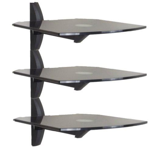 invisionr-premium-ultra-modern-av-wall-mounted-triple-glass-shelf-units-cantilever-swivel-arm-corner
