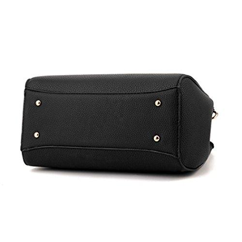 Sacchetto del messaggero delle donne di cuoio del Faux del sacchetto di spalla della borsa delle donne Rosso