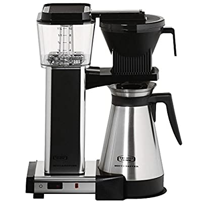 Moccamaster KBGT 741 coffee machine Alu poliert