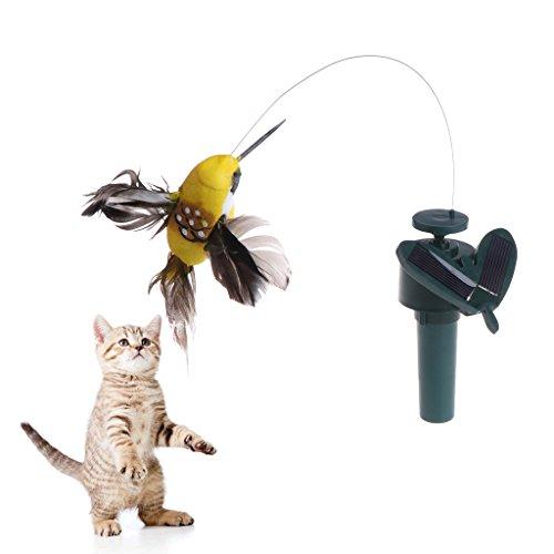 Mentin Juguete colibrí Mariposa Vuelo actionné Solar