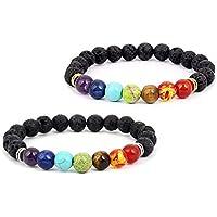 Chakra-Armband, Heilung, YogaArmband, elastisch mit Steinen, Mala, Meditation, religiöser Schmuck, für Damen und... preisvergleich bei billige-tabletten.eu