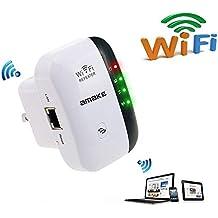 SUKILIU Repetidor/Amplificador Inalámbrico De La Gama De Señal De 300Mbps WiFi Repeater/Extender