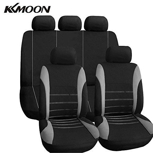 KKmoon Auto Stoelbekleding auto binnenruimte speedclic-accessoires Universele stijl Auto adbeckung