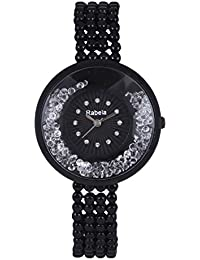 Rabela Women's Analogue Black Dial watch RAB-222