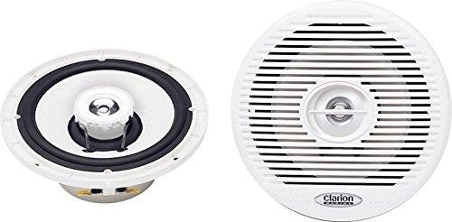 Clarion CM1625 - Altavoz impermeable (cable coaxial, 16,5 cm)