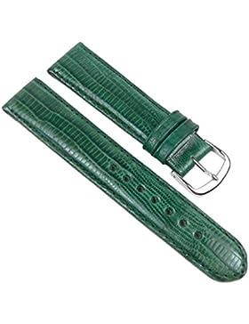 Birkenstock Teju Ersatzband Uhrenarmband Kalbsleder Grün 20396S, Stegbreite:20mm