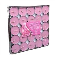 Tea Light Scented Candle 100 pieces - Rose