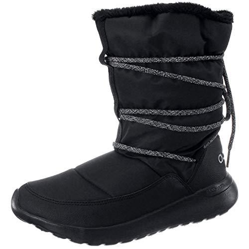 adidas Damen Cloudfoam Racer AQ1617 Sneaker, Mehrfarbig (Black 001), 38 EU - Adidas Winter Stiefel