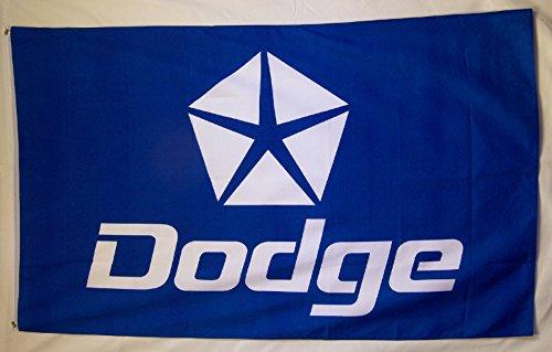 Dodge Flagge 3'x 5mit Pentastar Logo Indoor Outdoor Auto Banner -