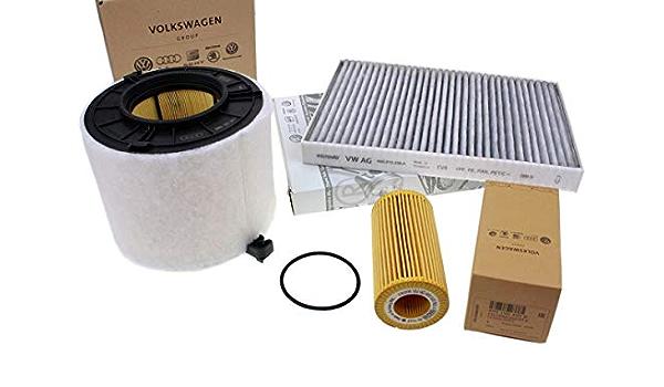 Original V6 Tdi Inspektionspaket Filter 3 0l Diesel Motor Service Motorfilter 3 Teilig Auto