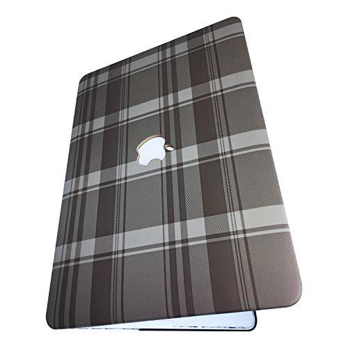 Schutzhülle für MacBook Hartschalen-Schutzhülle für Vinyl, griffig, Polymermaterial Lite Brown Plaid MacBook Air 13.3