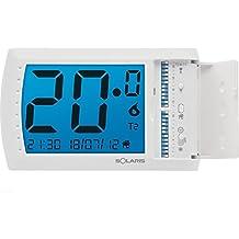 Solaris - Explorer 7Uen 107150cronotermostato con pantalla táctil de pared blanco