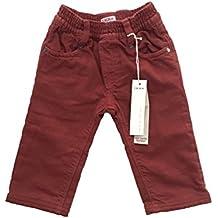 IKKS-Pantalón de 100% algodón, color burdeos () idea de regalo