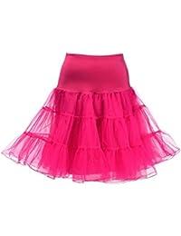 "Remedios Jupon 50 Vintage de Rockabilly Petticoat TUTU Longueur 68cm/26"""