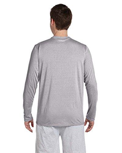 Gildan -  T-shirt - Uomo Grigio