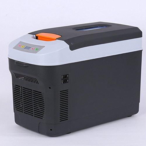 LT&NT Réfrigérateur Portable 25 litres Voiture Électrique Frigo Chaud et Cool Box Refroidisseur Petit Ménage Congélateur pour Voyage en Plein Air Pique-Nique Camping 12V / 24V / 220V-240V