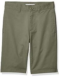 Amazon Essentials – Pantalón corto para niño, Verde oliva, US 8 (EU 128 CM, S)